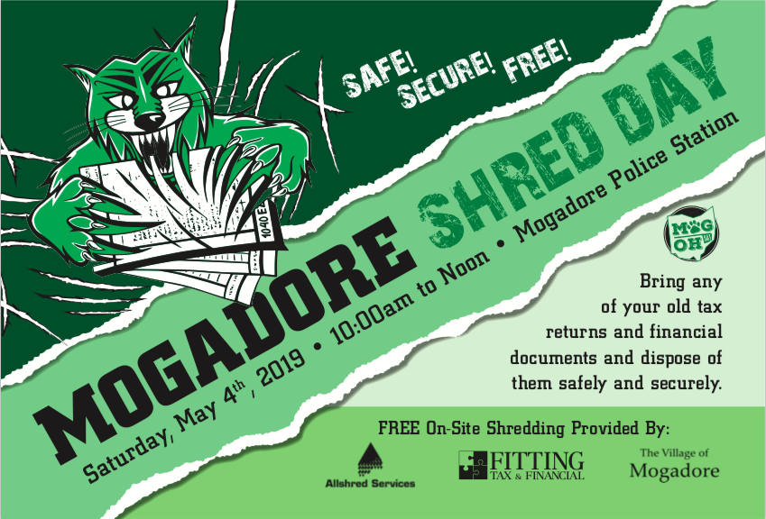 Shred Day – The Village of Mogadore
